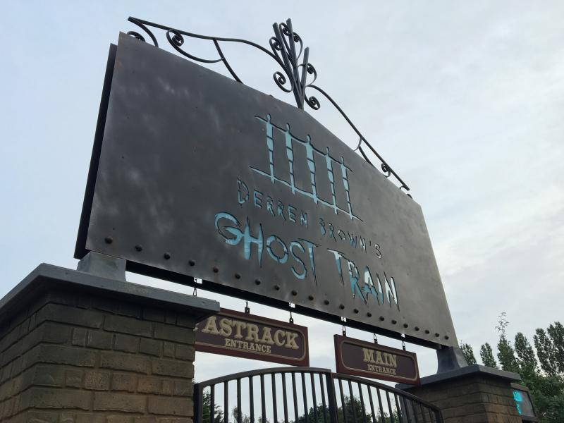 Thorpe Park Ghost Train Grand Opening